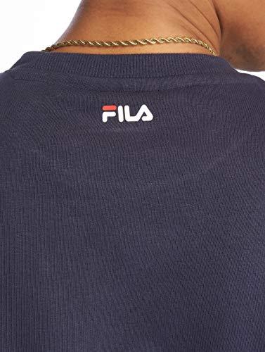 Girocollo 681091 Felpa Blu Scuro 170 Pure s Classic Scuro Fila Pw1qTT