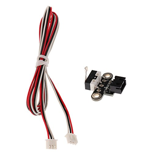 Jili Online Horizontal Type Mechanical NO Limit Switch Sensor with Wire for DIY CNC 3D Printer