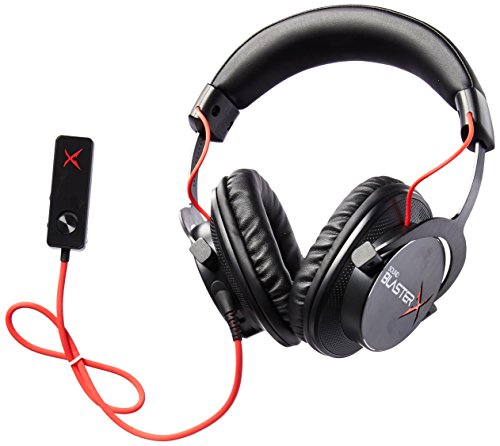 - Creative Sound BlasterX H7 Tournament Edition HD 7.1 Surround Sound Gaming Headset