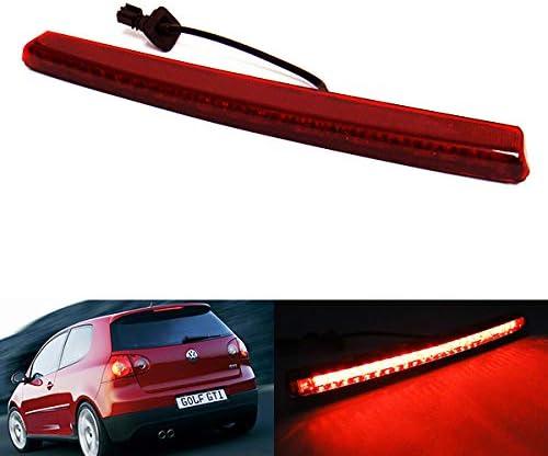 Rote Linse Led Hinten High Level Center Dritte Bremsleuchte Für 2004 09 Volks Golf V Gti R32 R Line Polo 9n Passat 3c5 R36 Auto