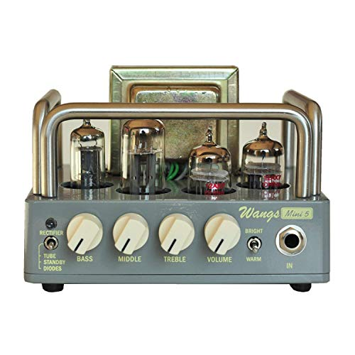 (BIYANG Wangs Guitar Amplifier Mini 5 Powerful 5 Watt All Tube Amp Head with 12AX7 12BH7 6Z4 Tubes (Mini 5))