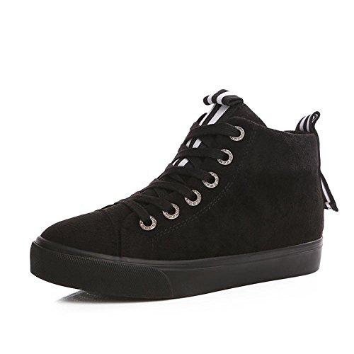 [RSWHYY] レディース ブーツ シークレットブーツ 保温 厚手 カジュアル 滑り止め