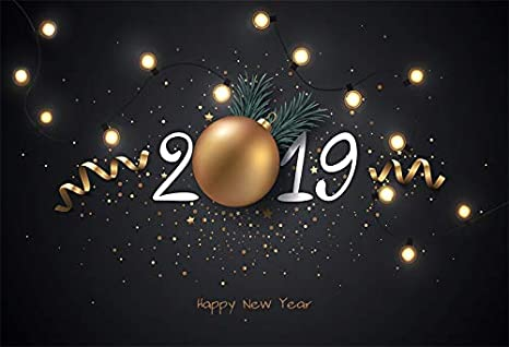 Amazon.com : Yeele 9x6ft 2019 Happy New Year Photography Backdrop