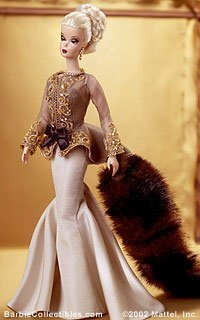 Limited Edition Fashion Model Collection Capucine Barbie Doll by Mattel