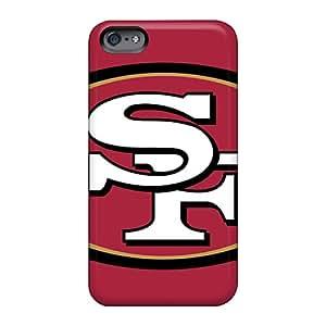 Scratch Resistant Hard Phone Cases For Apple Iphone 6 Plus (ITx12632KLXX) Unique Design Vivid San Francisco 49ers Skin