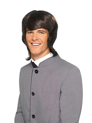 60's Male Mod Wig Costume Accessory]()