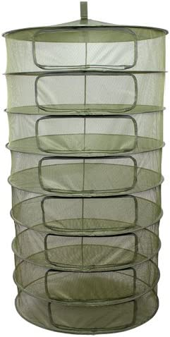 3 GROW1 Hydroponic Grow Plant Dry Rack w Zipper Openings