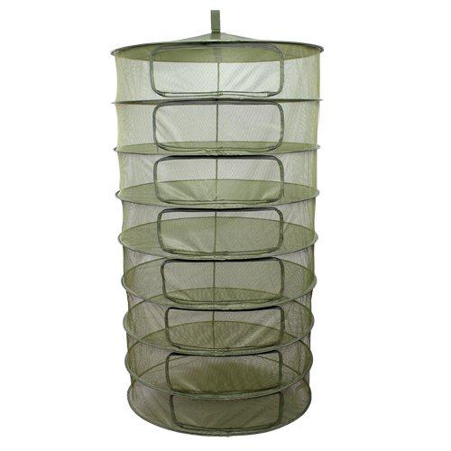 3' Gro1 Hydroponic Grow Plant Dry Rack w/ Zipper Openings