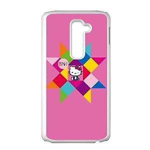 LG G2 Cell Phone Case White Hello Kitty Geometric SUX_202752