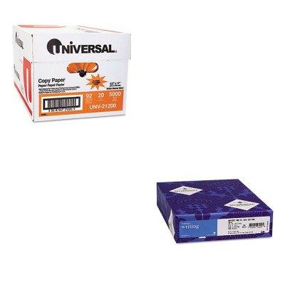 KITSTT300033UNV21200 - Value Kit - Strathmore 25% Cotton Business Stationery (STT300033) and Universal Copy Paper (UNV21200)