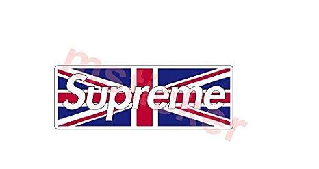 Amazoncom Uk United Kingdom Supreme Flag Sticker Decal