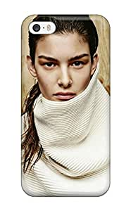 Excellent Iphone 5/5s Case Tpu Cover Back Skin Protector Ophelie Guillermand (3D PC Soft Case)