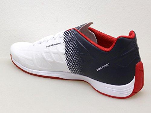 Puma BMW MS evoSPEED LACE 305782 01 Herren Schuhe Motorsport Leder Sneaker