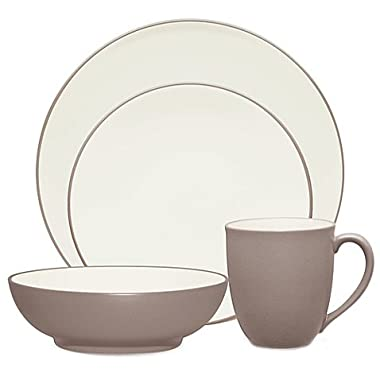 Noritake Colorwave Clay 4-Piece Coupe Place Setting