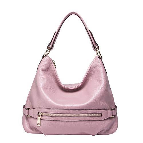 Seau Sac Mode Bandoulière Pink à Véritable Sacs Cross Sac Cuir Body Grand En Main,Femmes Fourre à Sacs Main tout à Bag Designer XwYq1x01
