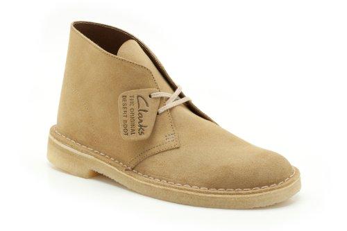 Clarks Originals - Zapatos de cordones de ante para hombre beige Caramel