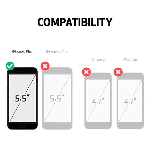 LifeProof NÜÜD iPhone 6 Plus ONLY Waterproof Case (5.5'' Version) - Retail Packaging - AVALANCHE (BRIGHT WHITE/COOL GREY) by LifeProof (Image #3)