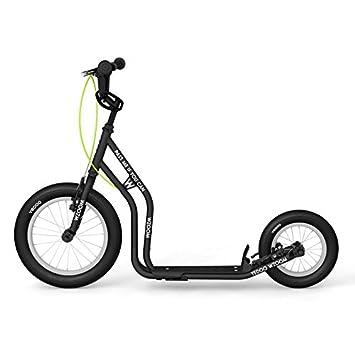 Yedoo New wzoom Black | Niños Roller con neumáticos de aire ...