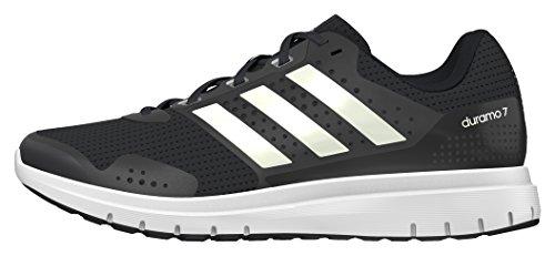 adidas Herren Duramo 7 Laufschuhe, Schwarz (Core Black/Ftwr White/Core Black), 43 1/3 EU