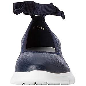 Frau Sneakers, Ballerine con Chiusura sul Retro Donna