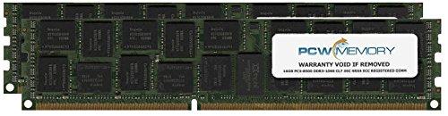 IBM 32GB [2x 16GB] PC3-8500 DDR3-1066 4Rx4 ECC Registered RDIMM Memory Kit (IBM Part #8205-EM32)