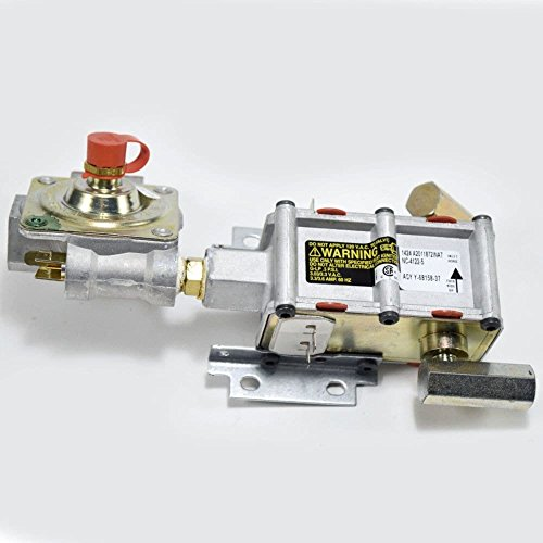 Samsung DG94-00449A Wall Oven Gas Valve Genuine Original Equipment Manufacturer (OEM) Part