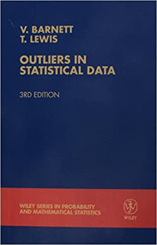 Amazon Com Outliers In Statistical Data 9780471930945 Vic