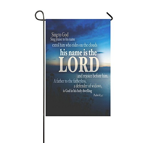 Buy Bible Quotes Garden Flag products online in Bahrain
