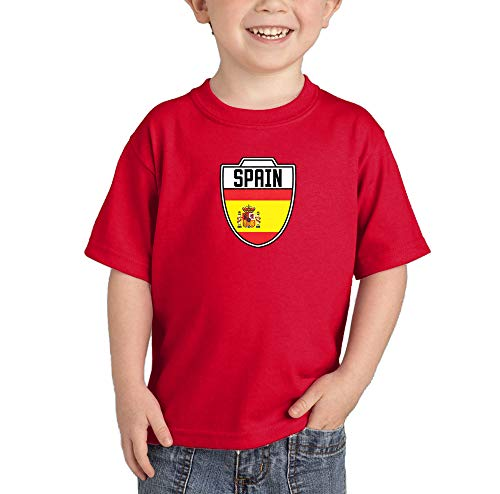 cec217540 Spain Spanish - Soccer T-Shirt (Red