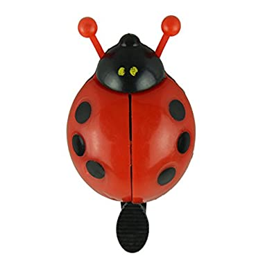 JD's Red Bug Bi-Cycle One Flip Cling Bell (Click on JD India Gems and Rings to See All Our Products)