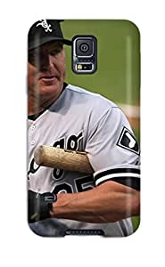 Hot chicago white sox MLB Sports & Colleges best Samsung Galaxy S5 cases 6266579K645704274