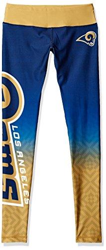 FOCO Los Angeles Rams Gradient Print Legging - Womens Small by FOCO