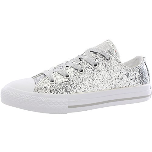 Taylor Top Etoiles Converse Sneakers Chuck Pur Argent Sneaker Mode Low xIqwEFE5
