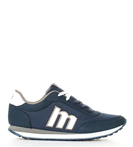 Mustang - Zapatillas Funner marino, blanco - 82600 - Talla 44: Amazon.es: Zapatos y complementos