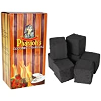Pharaoh's Coconut Natural Hookah Charcoal - 192 Cube Pieces, 2 Kilo