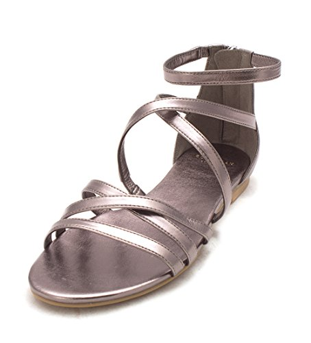 Cole Haan Womens 14A4110P Open Toe Casual Strappy Sandals Gunmetal xoujcpiJzl