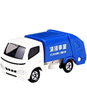 Tomica Toyota Dyna Street Cleaner Replica Die-cast Car, White and Blue