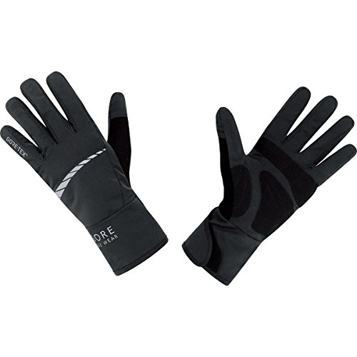 Gore Bike Wear Men's Road Cycling Gore-Tex Gloves, Black, X-Large
