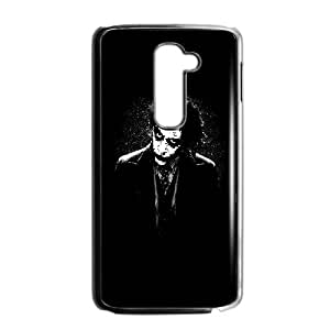 LG G2 Cell Phone Case Black The Joker Batman Black White C4W6PO