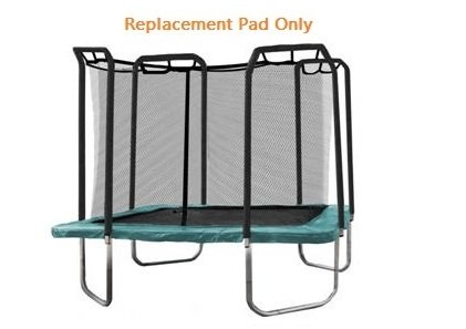 Cheap Trampoline Depot Heavy Duty Replacement Safety Pad, Square, Green