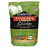 Evanger's Grain-Free Chicken Dry Dog Food 4.4 Lbs, My Pet Supplies