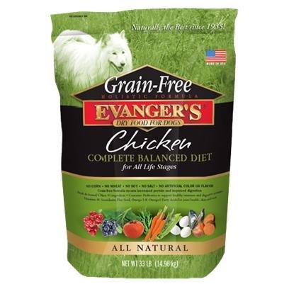 Evanger's Grain-Free Chicken Dry Dog Food 4.4 Lbs, My Pet Supplies