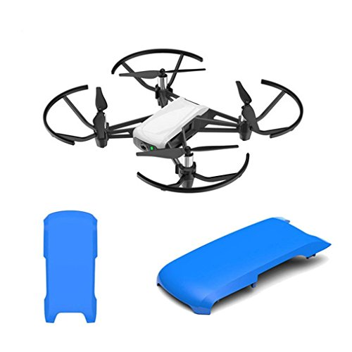 Upper Top Cover - Anbee Tello Snap on Top Cover/Upper Shell Cover for Tello Drone (Blue)