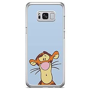 Loud Universe Pooh Tigger Strange Samsung S8 Plus Case Pooh Tigger Samsung S8 Plus Cover with Transparent Edges