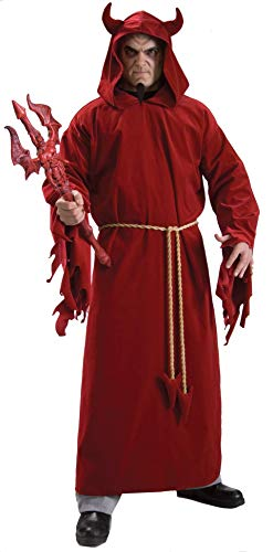 Rubie's Demon Lord, Red, One Size