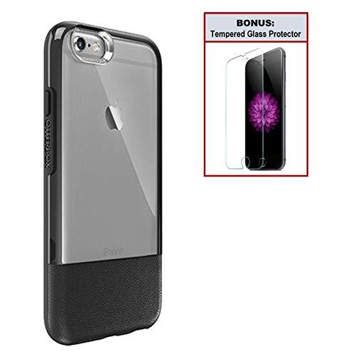 [해외]Otterbox 독점 번들: 아이폰 66s용 울트라 슬림 케이스 - 극도로 떨어뜨림 보호 - 투명 디자인의 프리미엄 가죽 - 스크래치 방지 + 보너스 투명 강화 유리 스크린 보호기 / Otterbox Exclusive Bundle: Ultra-Slim Case for iPhone 66s - Extreme Dr...