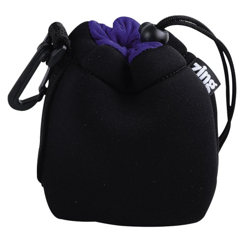 Zing SPBK1 Small Drawstring Lens Pouch (Black) by Zing