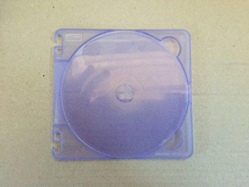 100 Super Slim Poly CD BluRay DVD Jewel Cases - Purple (Jewel Super Slim Case)