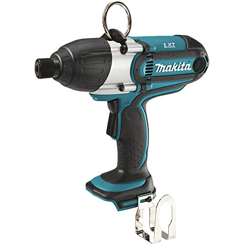 Makita XWT01Z 18V LXT Lithium-Ion Cordless Hex High Torque Impact Wrench Kit, 7/16-Inch - Cordless Hex Charger