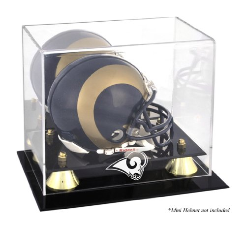 Mounted Memories St. Louis Rams Mini Helmet Display Case ()